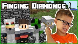 FINDING DIAMONDS NEAR BEDROCK???