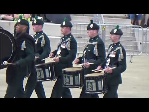 The Bugles, Pipes and Drums of The Royal Irish Regiment, Army Wales's Musical Pageant (part 3)
