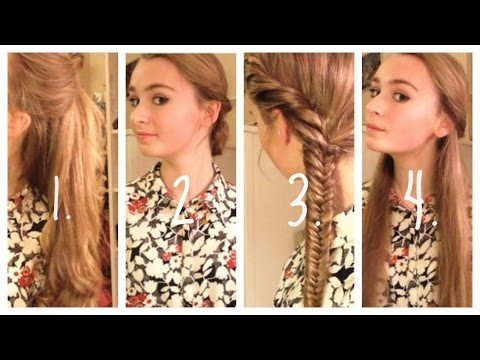 How to: Four Quick and Easy Hairstyles :)