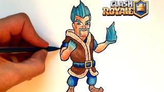 Dessin esprit de glace clash royale dlyak video for Deck clash royale sorcier de glace