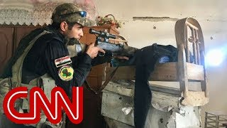 Iraqi troops closing in on ISIS in Mosul