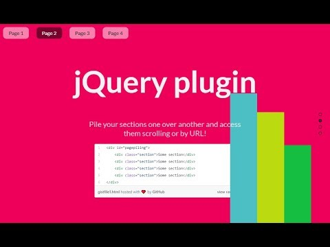 Page Piling with jQuery