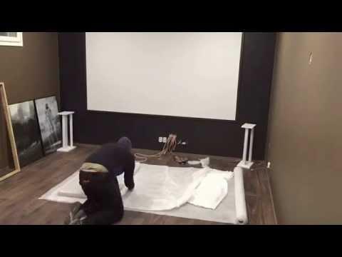 Acoustic panels (DIY)