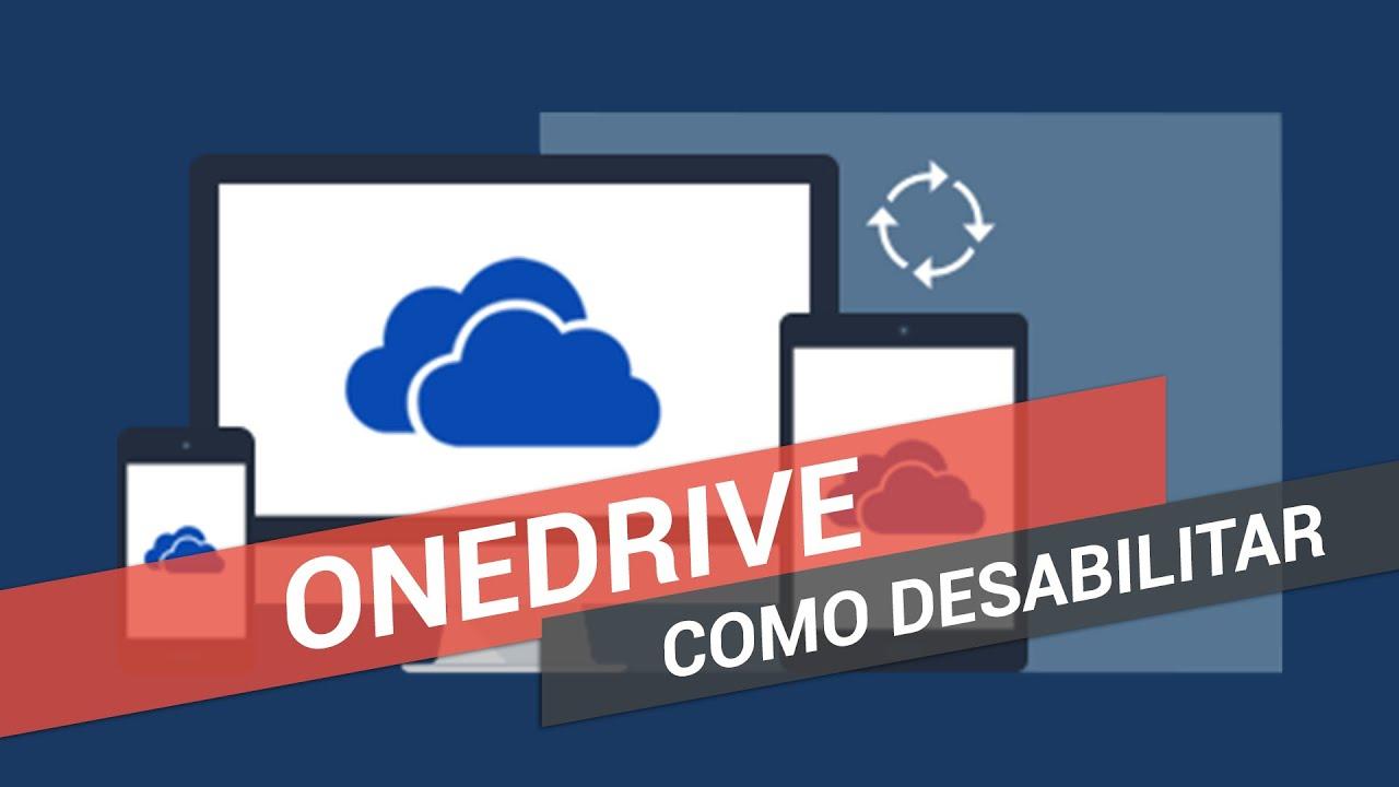 Como desabilitar OneDrive no Windows 10