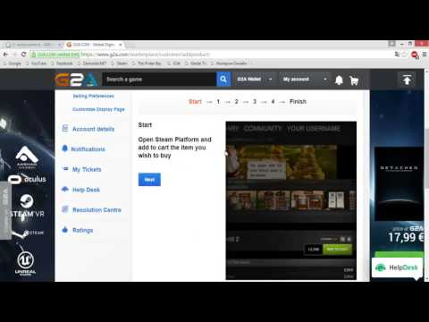 How to sell items in G2A.com