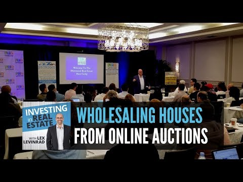 How To Find Houses To Wholesale And Flip On Online Auction Sites | Learn How To Flip House