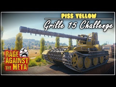 R.A.t.M – Piss Yellow Grille 15 Challenge || World of Tanks