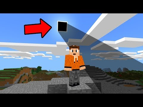 Do NOT Look at the SUN in Minecraft Pocket Edition!