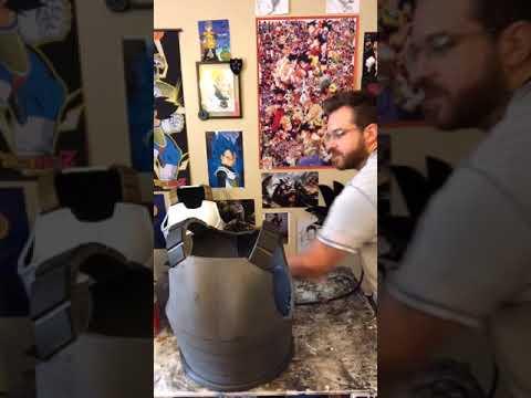 Making Saiyan Armor part 3