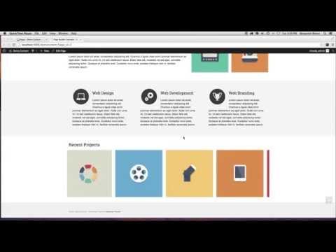 Wordpress Virtue Premium Theme Tutorial: Page Builder