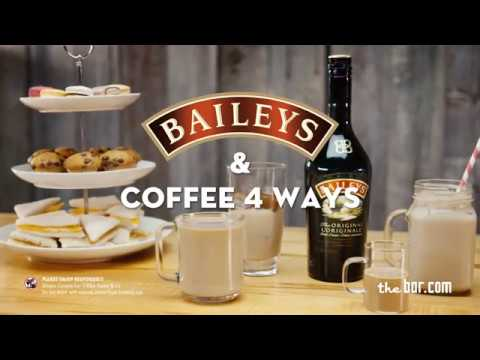 Baileys & Coffee 4 Ways with Kicking Horse