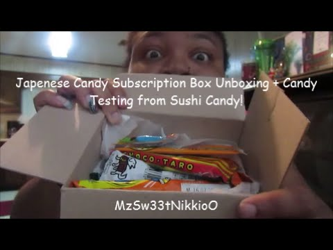 https://Sushicandy.net - Japense Candy Subscription Unboxing + Candy Tasting!
