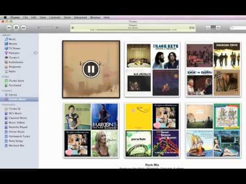 Create Playlists  - iTunes 9 Intro movie # 4