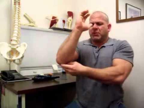 Golfer's Elbow Treatment Program