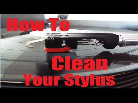 How to clean your Stylus the easy way!