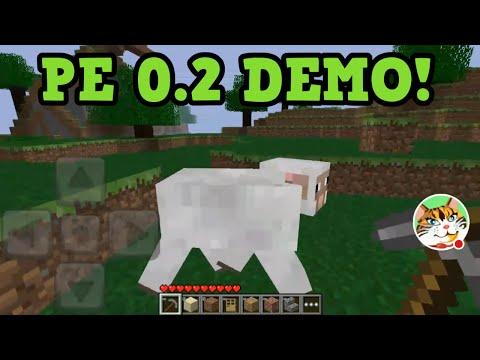 Minecraft PE 0.2 Demo - Pocket Edition lite