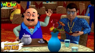 Motu Patlu New Episode | Hindi Cartoons For Kids | Motu With Superstar | Wow Kidz