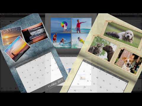 Make Photo Calendars with Photoshop Elements 2018