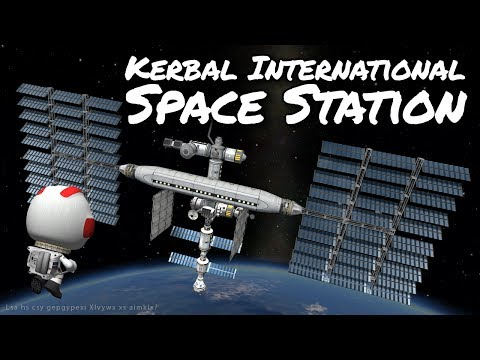 KSP Space Station with reusable launches - Ep 57 - Kerbal Space Program - Marcus House - Stock Parts