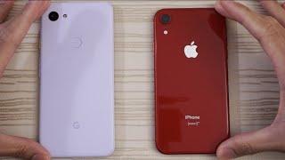 Google Pixel 3a XL vs iPhone XR - Speed Test!