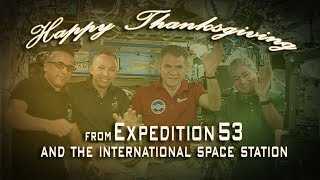 Expedtion 53 Thanksgiving Message