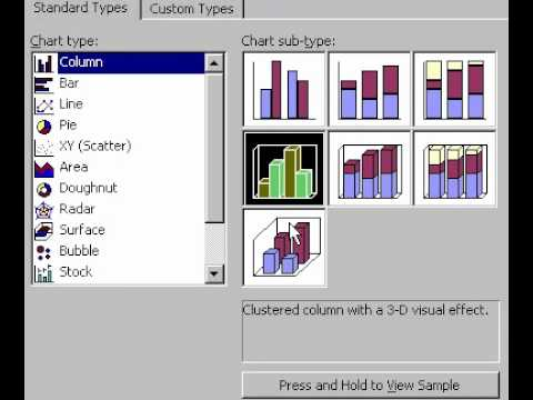 Microsoft Office Excel 2000 Creating charts & graphs