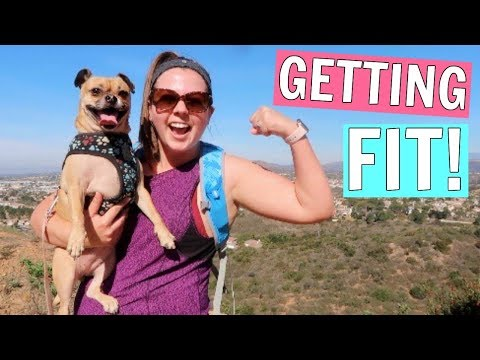 My Weekly Workout Routine! Getting Fit With My Dog!
