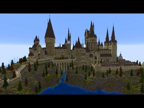 Hogwarts aus Harry Potter in Minecraft! MASSIG DETAILS!