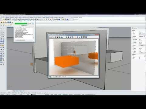 [Vray for Rhino] Mirrors and Glass