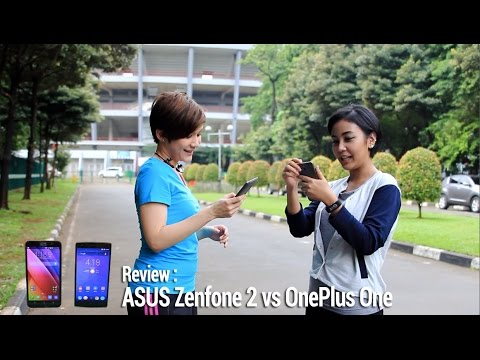 ASUS Zenfone 2 vs OnePlus One - Review Indonesia