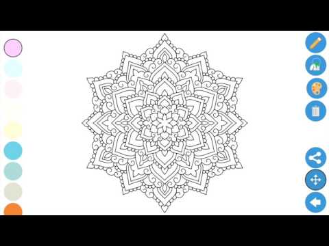 Best Coloring apps for Adults - Zen Coloring book for adults