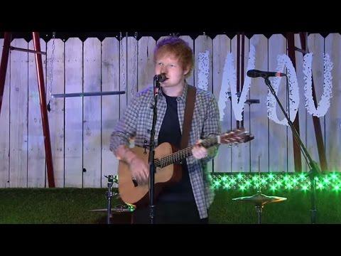 Ed Sheeran - Sing (Live at TFIOS Premiere)