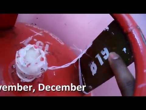 How to find Gas Cylinder Expiry date