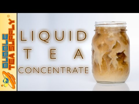 How to Make Milk Tea Using Bubble Tea Supply's Liquid Tea Concentrate