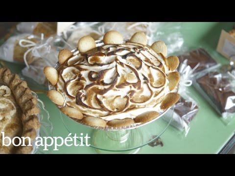 The Creamiest Banana Pudding Pie | Bon Appetit