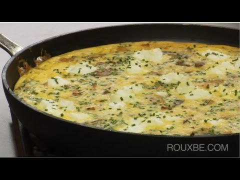 How to make Frittata | Bacon, Potato, Mushroom & Cheese