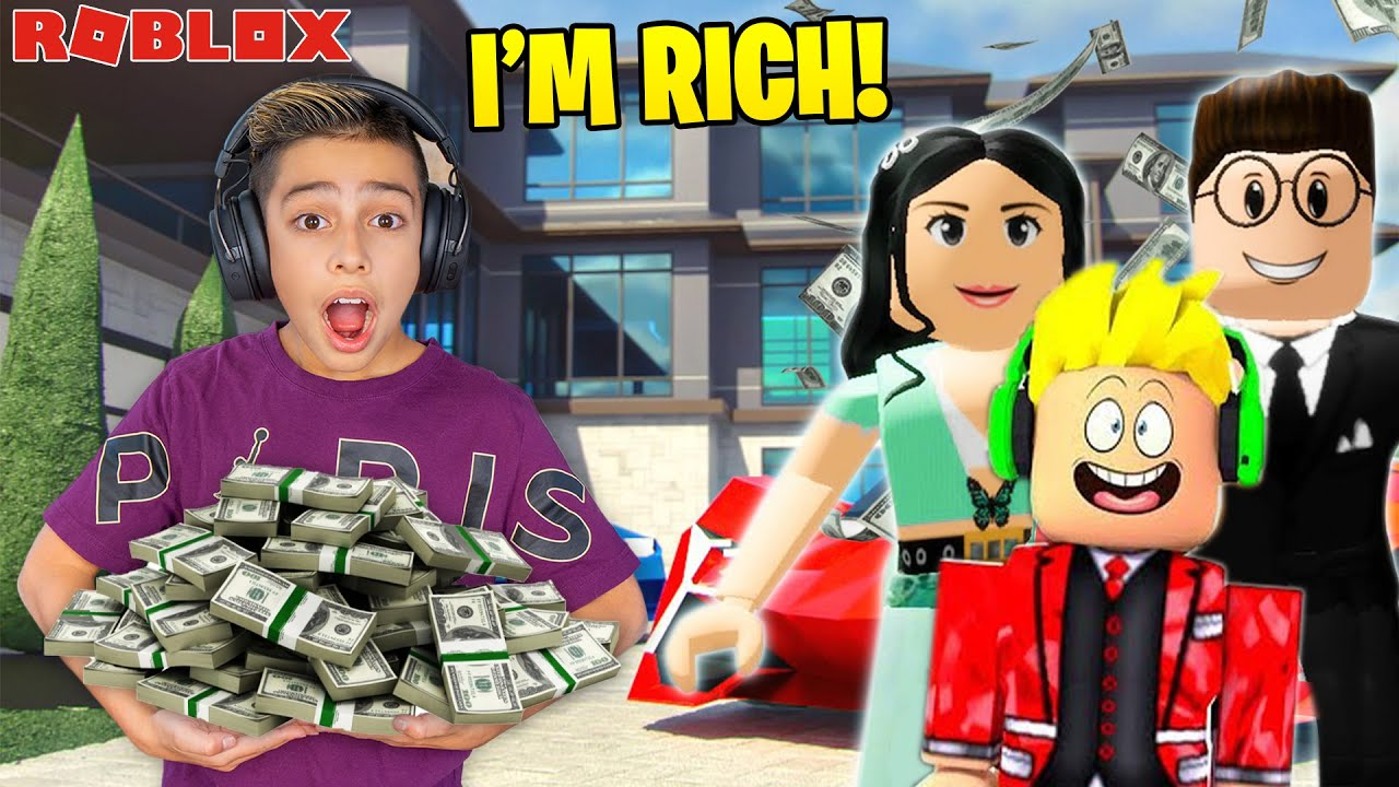 Ferran got ADOPTED by a Billionaire in Roblox Brookhaven! | Royalty Gaming