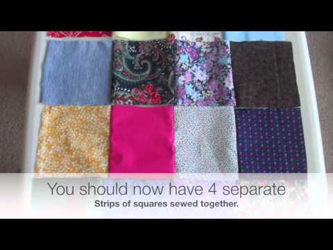 DIY | How to Sew a Patchwork Pillow | EASY