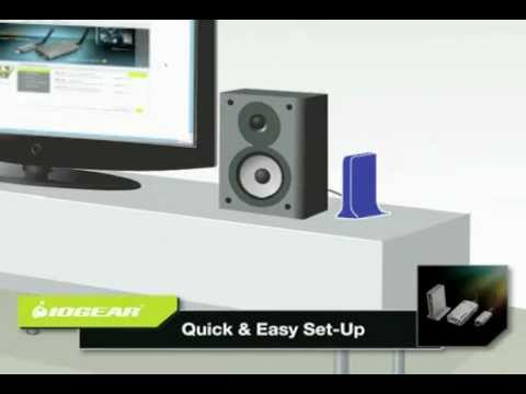 Iogear Wireless Audio & Video Kit at Justdeals.com