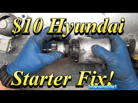 $10 Hyundai Starter Fix