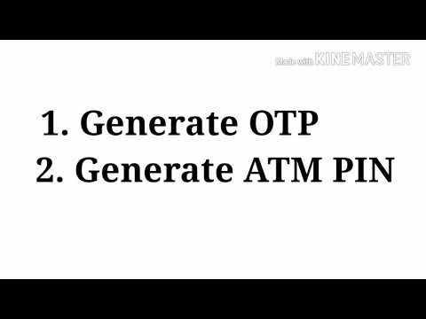 How to generate ATM PIN for ICICI ATM CARD || FORGET ATM PIN
