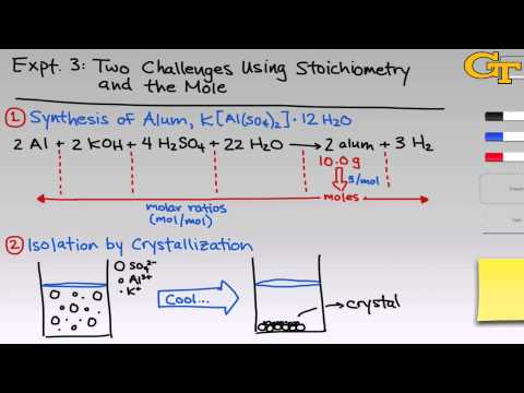 Stoichiometry and the Mole | Intro & Theory