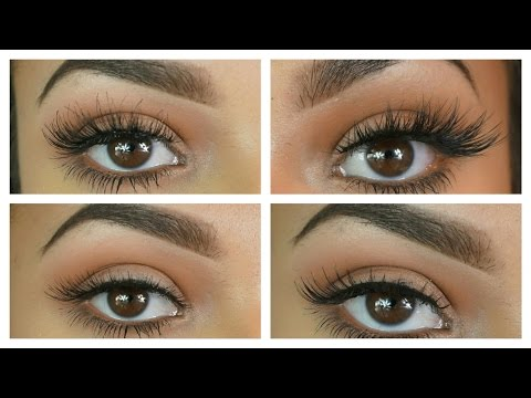 TYPES OF EYELASH STYLES - WHAT SUITS YOU?