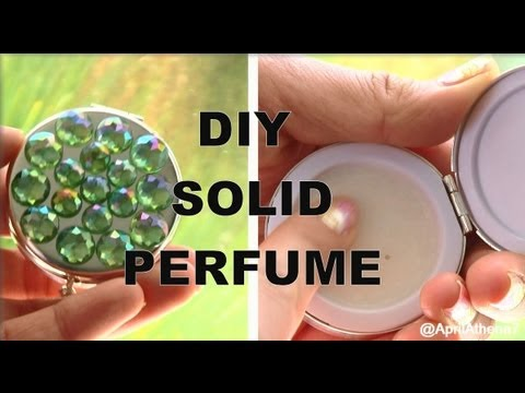 DIY SOLID PERFUME! How to Make Solid Perfume!