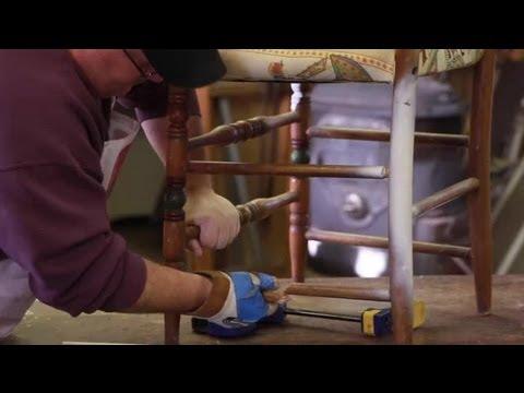 How to Repair Wood Chair Legs : Furniture Repair Tips
