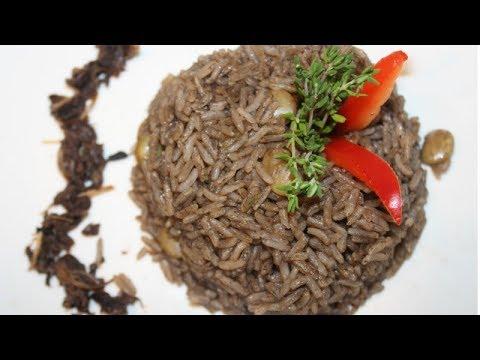 Diri Ak Djon Djon with shrimp | With REAL Djon Djon