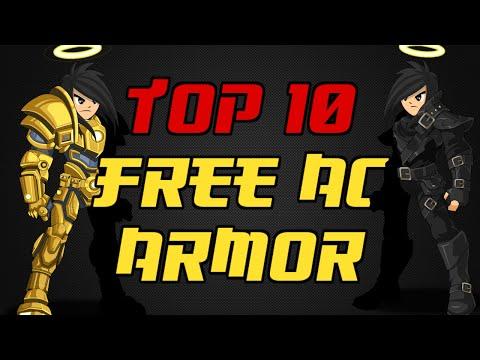 Aqw⌡  Top 10  【Free Acs Armors】