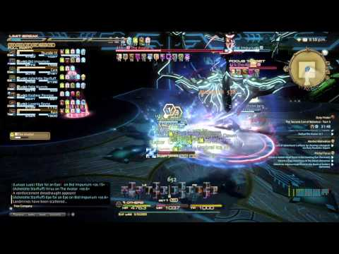 Final Fantasy XIV: A Realm Reborn - Second Coil of Bahamut Turn 3 (Turn 8) Black Mage Perspective