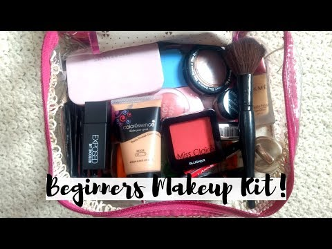 COMPLETE BEGINNERS MAKEUP KIT Under Rs. 250 | Anindita Chakravarty