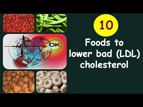 Top 10 foods you should eat to lower bad (LDL) cholesterol | LDL Cholesterol lowering natural foods